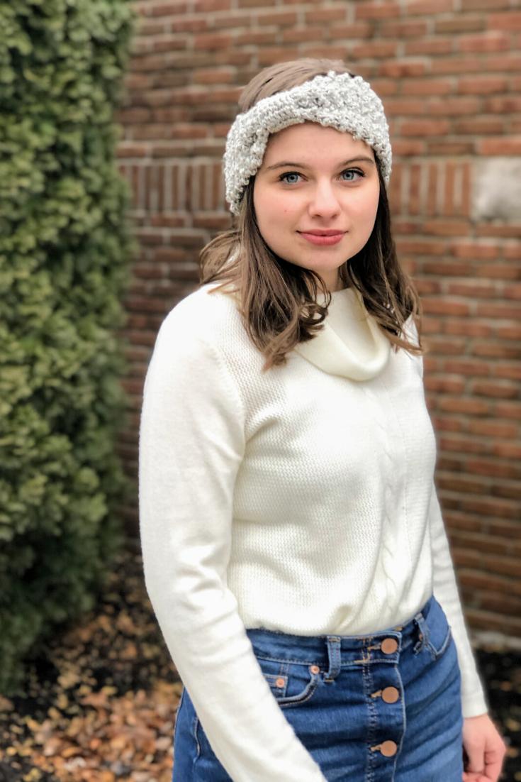 Easy Crochet Headband Pattern – The Conley Headband