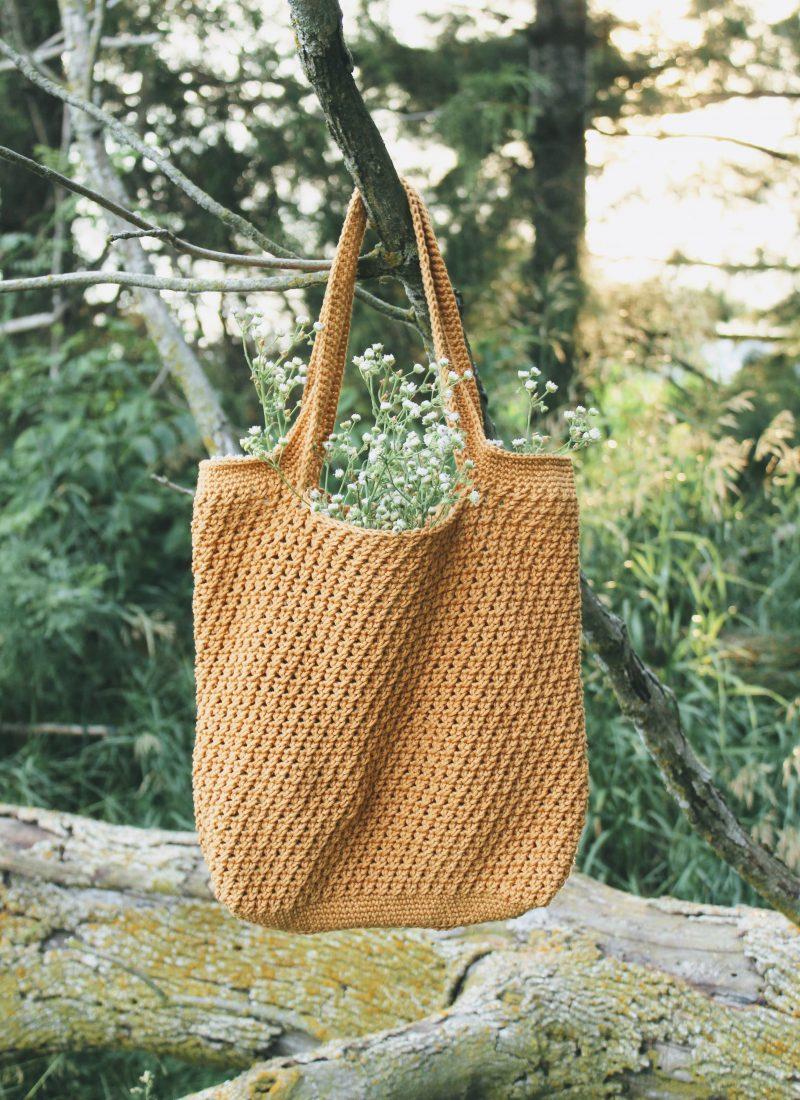 Summer Harvest Market Bag – Free Crochet Pattern