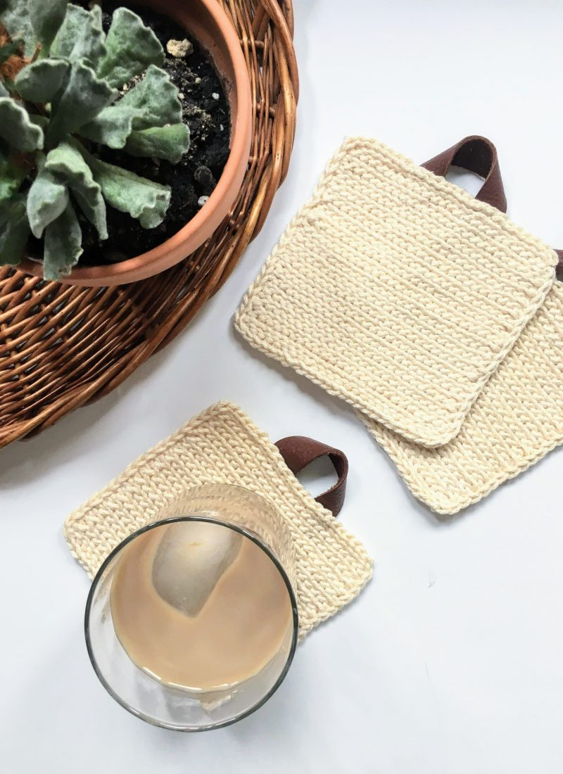 Easy Coasters Crochet Pattern – Boho Cottage Coasters