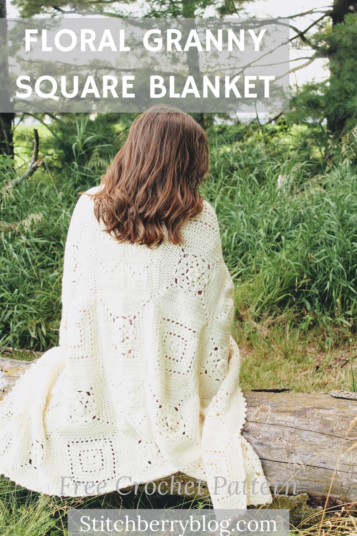 Southern Blooms Blanket – Free Crochet Pattern