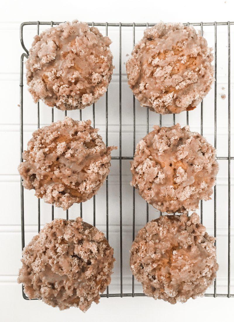 The Best Pumpkin Streusel Muffin Recipe!