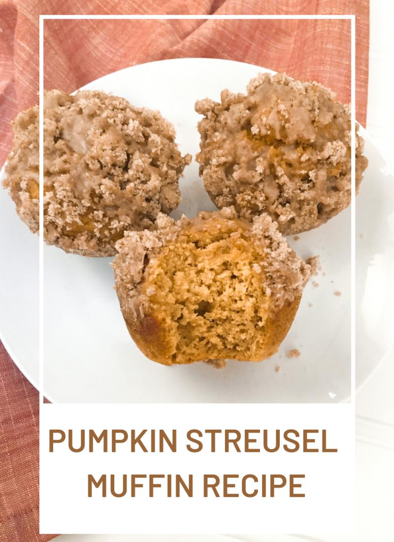 The Best Pumpkin Streusel Muffins Recipe!