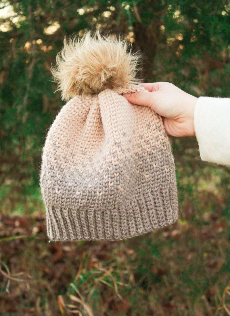 Crochet Fair Isle Beanie Pattern – The Vanilla Pines Beanie
