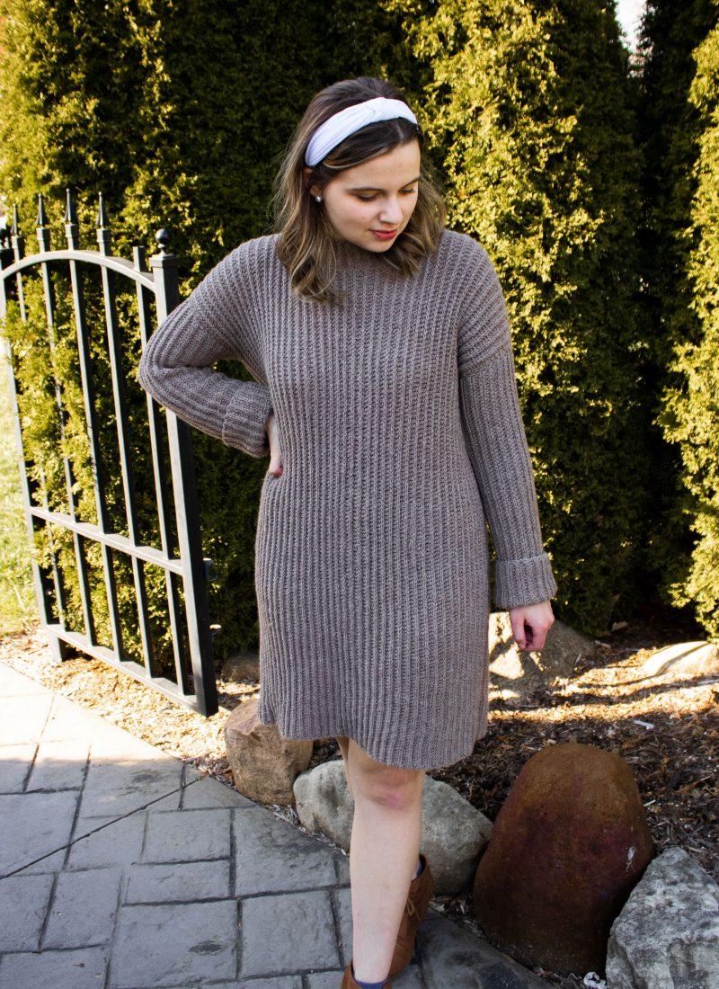 Ribbed Dress Free Crochet Pattern – Willa Sweater Dress