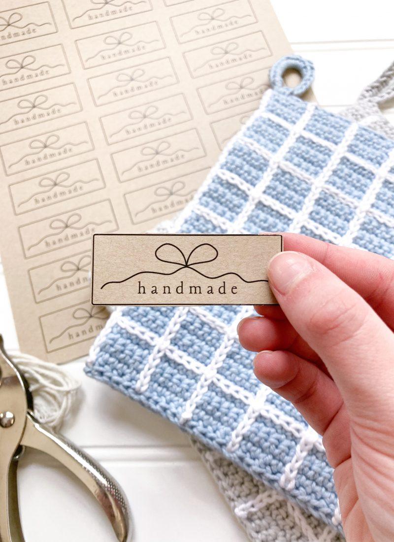 Free Printable Gift Tags for handmade gifts